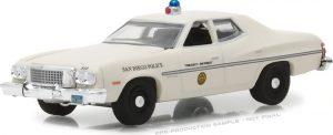 1975 Gran Ford Torino - San Diego, California Police- Hot Pursuit Series 27 at diecastdepot