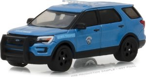 2016 Ford Police Interceptor Utility - Maine State Police -Hot Pursuit Series 27 at diecastdepot