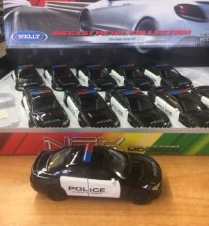 "2016 Dodge Charger R/T Police - Pull back action -4.75"" long at diecastdepot"