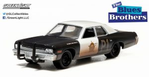 1974 DODGE MONACO BLUE MOBILE- The Blues Brothers at diecastdepot