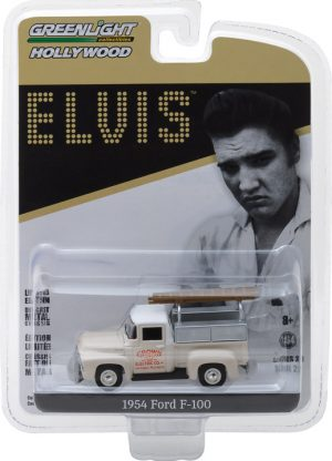 Elvis Presley (1935-77) - 1954 Ford F-100 Truck Crown Electric Company - Hollywood Series 20 at diecastdepot