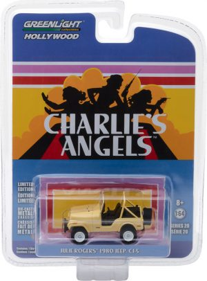 Charlie's Angels (1976–81 TV Series) - Jeep CJ-5-  Hollywood Series 20 at diecastdepot