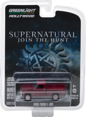 Supernatural (2012-Current TV Series) - 1969 Ford F-100 -Hollywood Series 20 at diecastdepot