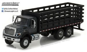 2017 International Work Star Platform Stake Truck - SD Truck Series 1 at diecastdepot