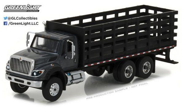2017 International Work Star Platform Stake Truck - SD Truck Series 1 at diecastdepot