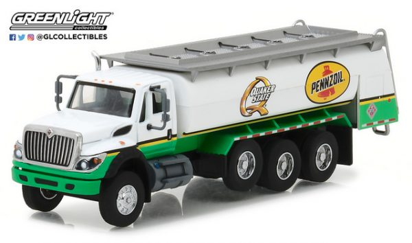 2017 International WorkStar Tanker Truck - Pennzoil Quaker State at diecastdepot