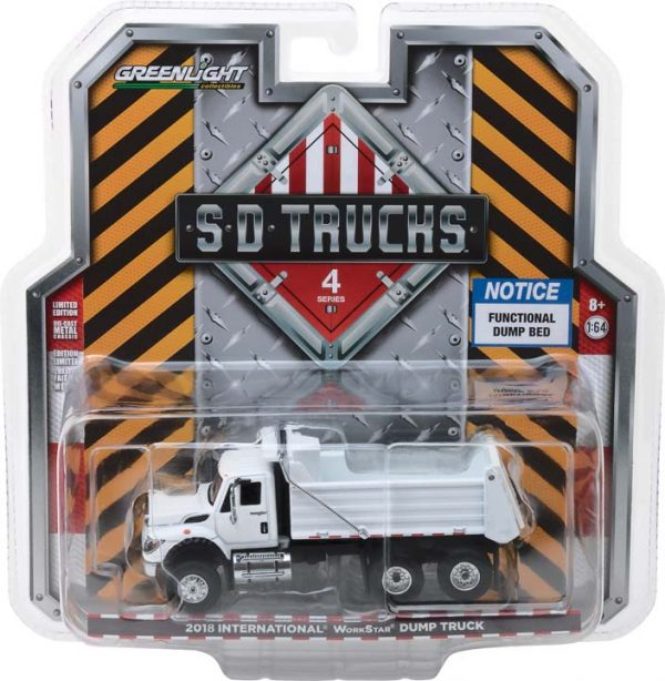 2018 International WorkStar Construction Dump Truck-  S.D. Trucks Series 4 at diecastdepot
