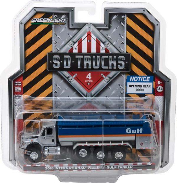 2018 International WorkStar Tanker Truck - Gulf Oil - S.D. Trucks Series 4 at diecastdepot