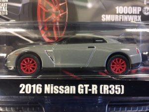 2016 NIssan GT-R (R35) - Tuner Crate - Hobby Exclusive (Duckbill Trunk) at diecastdepot