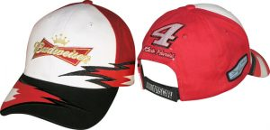 Kevin Harvick #4 Bud Speedblur Hat at diecastdepot