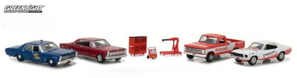Ford Motorcraft Garage- Diorama Multi Car at diecastdepot