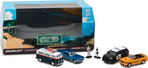 Pacific Coast Highway Road Trip - Multi-Car Diorama with Figures- 1:64 scale at diecastdepot