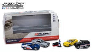 BFGoodrich Performance Tire Shop - Multi-Car Diorama with Spare Tires at diecastdepot