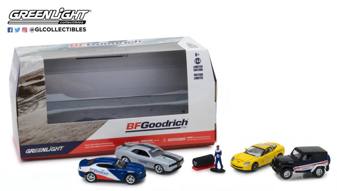 Bfgoodrich Performance Tire Shop Multi Car Diorama With