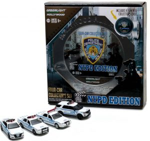 Hollywood Film Reels Series 5 - NYPD Behind The Scenes Movie Set at diecastdepot