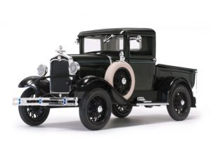 1931 Ford Model A Coupe - Valley Green at diecastdepot