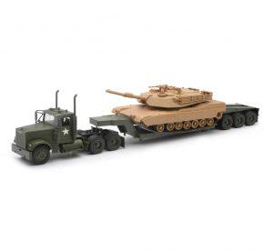 Freightliner Lowboy W/ M1A1 Tank at diecastdepot