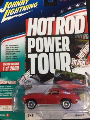 1965 Chevrolet Corvette Stingray - Hot Rod Power Tour - Muscle Cars USA at diecastdepot
