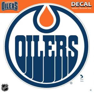 Oilers Decal at diecastdepot