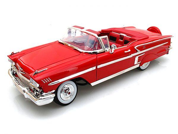 Chevy Impala '58 Conv. at diecastdepot