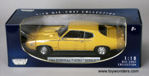 "1969 Pontiac GTO ""The Judge"" at diecastdepot"