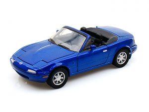 Mazda MX-5 Miata - Blue at diecastdepot