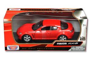 Mazda RX-8 - Red at diecastdepot