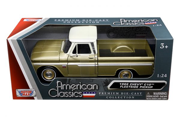 1966 Chevrolet C-10 Pickup Truck at diecastdepot
