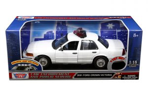 2001 Crown Victoria Police Car at diecastdepot