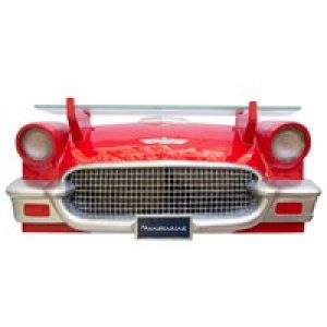 Ford Thinderbird Front Wall Shelf with Working Headlights at diecastdepot