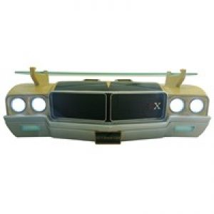 1971 GM BUICK SKYLARK GSX CORTEX GOLD FRONT END WALL SHELF W/ WORKING LIGHTS at diecastdepot