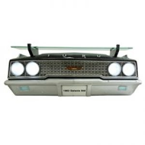 1963 FORD GALAXIE 500 427 FRONT WALL SHELF W/ LIGHTS at diecastdepot