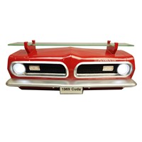 1969 PLYMOUTH BARRACUDA FRONT WALL SHELF W/ LIGHTS at diecastdepot