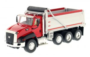 Caterpillar CT660 Dump Truck in Red - Core Classics Series at diecastdepot