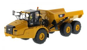 Caterpillar 745 Articulated Hauler - High Line Series at diecastdepot