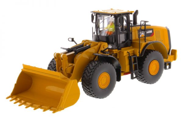 Caterpillar 980M Wheel Loader with Rock Bucket - High Line Series at diecastdepot