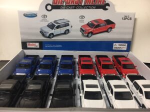 Toyota Tundra Pick Up Truck - display tray - sold individually at diecastdepot