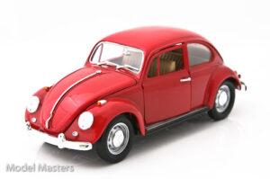 1967 VolksWagen Beetle- RED at diecastdepot