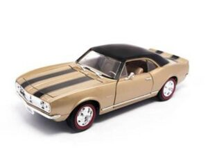 1967 Camaro Z-28 -Gold at diecastdepot