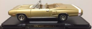 1970 Dodge Coronet R/T- Gold at diecastdepot