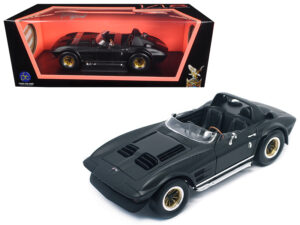 1964 CHEVROLET CORVETTE GRAND SPORT ROADSTER (MATTE BLACK VERSION). at diecastdepot
