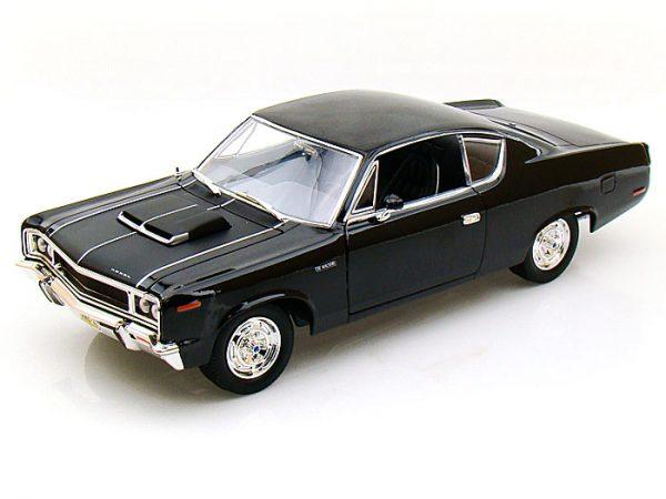 92778bk 3 - 1970 AMC REBEL MACHINE IN BLACK