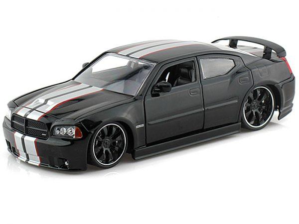 2006 Dodge Charger SRT8 - Black at diecastdepot