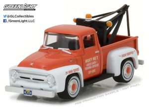 1956 Ford F100 with Drop In Tow Hook - The Hobby Shop Series 1 at diecastdepot