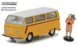 1975 Volkswagen Type 2 Bus with Backpacker - The Hobby Shop Series 1 at diecastdepot