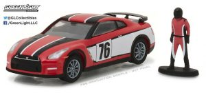 2015 Nissan GT-R with Race Car Driver - The Hobby Shop Series 1 at diecastdepot