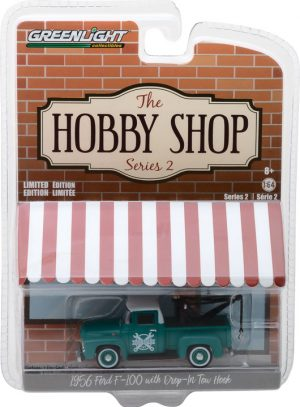 1956 Ford F-100 with Drop-in Tow Hook - The Hobby Shop Series 2 at diecastdepot