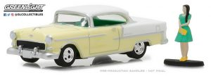 1955 Chevrolet Bel Air with Woman in Dress at diecastdepot
