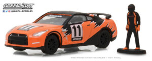 2011 Nissan GT-R (R35) with Race Car Driver at diecastdepot