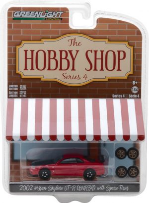 2002 Nissan Skyline GT-R (R34) with Spare Tires -The Hobby Shop Series 4 - at diecastdepot